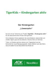 Zertifikat TigerKids